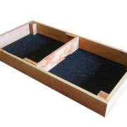 20cm high kitset veggie bed in cypress