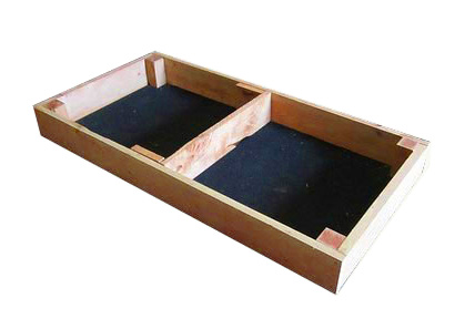 20cm high kitset veggie bed in cypress