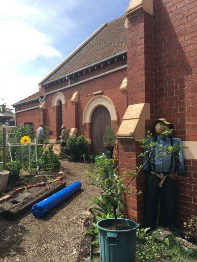 Armadale Community Garden wicking beds