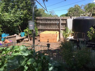 Private garden wicking beds, Brunswick West, Melbourne